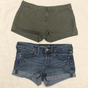 Express bundle Lot of 2 shorts size 4